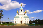 Holy Trinity Church in Angarsk — Stock Photo