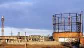 Gasholder — Stock Photo