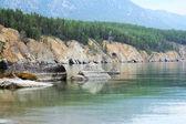Paradise Land on Lake Baikal — Stock Photo