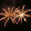 Night fireworks - Stock Photo