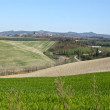 Tuscan hills - Stock Photo