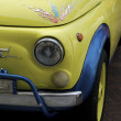 Old italian collection car: Fiat 500 - Stock Photo