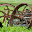 Old rusty machinery - Stock Photo