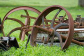 Old rusty machinery — 图库照片