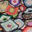 Stock Photo: Granny squares