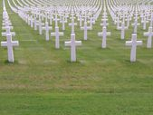 War cemetery — Stock Photo
