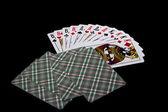 Jacks, regine, re e faccia carte — Foto Stock