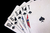 Royal Flush — Foto de Stock