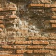 Wall of ruined pompeii building — Stock Photo