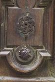 Eski doorlock bir anahtar deliği — Stok fotoğraf
