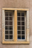 Old double window — Stock Photo