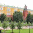 Alexander Gardens at Kremlin Wall — Stock Video #29855519