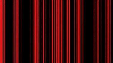Linhas vermelhas verticais em preto — Vídeo Stock
