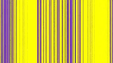 Vertical Magenta Purple Lines on Yellow — Stock Video