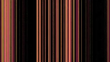 Vertical Magenta Orange Lines on Black — Stock Video