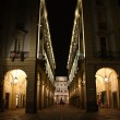 Turin by night — Stock Photo