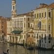 View from the Rialto Bridge — Stock Photo