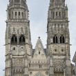 Stock Photo: Towers of saint gatien