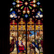 Stained-glass window in saint gatien — Stock Photo #13262723