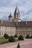 Toren van de abdij van cluny — Stockfoto