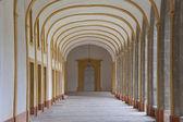 Koridor klášter v cluny (opatství — Stock fotografie