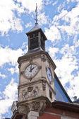 Věž s hodinami v chambery — Stock fotografie