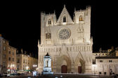 Cathedral of saint john in lyon — Stock Photo