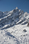 Alps in cervinia — Stock Photo
