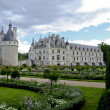 Stock Photo: The chateau of chenonceau