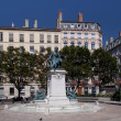 Stock Photo: Place Ampere in Lyon