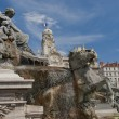Fountain of bartholdi in place des terraux — Stock Photo #18685635