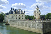 The chateau of chenonceau — Stock Photo