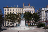 Place Ampere in Lyon — Stock Photo