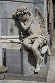 Statue of an Angel in the Recoleta Cemetery — Stock Photo