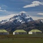 The Farm of Estancia Cristina in Los Glaciares National Park — Stock Photo