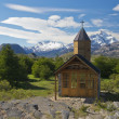 Church of Estancia Cristina in Los Glaciares National Park — Stock Photo