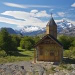 Church of Estancia Cristina in Los Glaciares National Park — Stock Photo