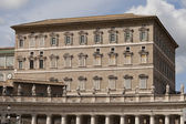 Pope apartments on Saint Peter Place in Rome — Stock Photo