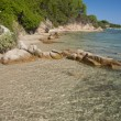 Stock Photo: Beach in ConcVerde, Sardinia