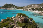 Cala Corsara, wonderful Seawater in Spargi — Stock Photo