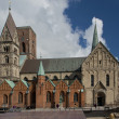 Stock Photo: Cathedral of Ribe, Denmark