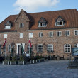 Stock Photo: Ancient house of Ribe, Denmark