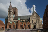 Cathedral of Ribe, Denmark — Stock Photo