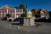 Cityscape of Ribe, Denmark — Stock Photo
