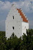 Church in Skagen — Stok fotoğraf