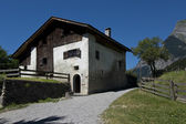 Heidihaus in Maienfeld, Switzerland Alps — Stock Photo