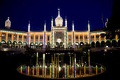 Nimb Palace illuminated — Stock Photo