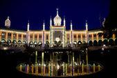 Nimb Palace illuminated — Stock Photo