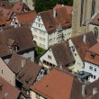 Houses in the Village of Rothenburg ob der Tauber — Stock Photo