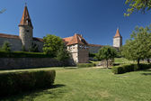 The Ramparts of Rothenburg ob der Tauber — Stock Photo